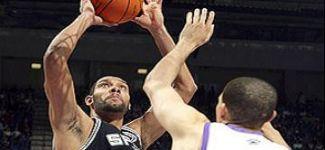 Duncan trop fort pour les Kings