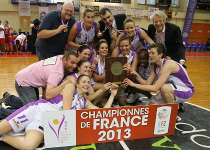 Final Four LF2 : Angers Champion de France !!!