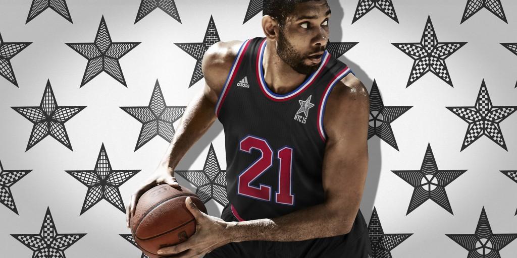 adidas Tim Duncan NBA All-Star 1 H
