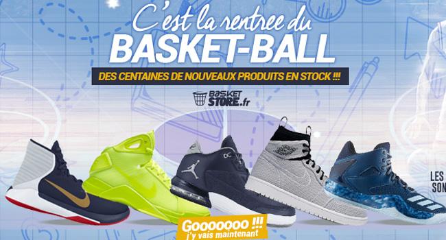 chaussures basketstore